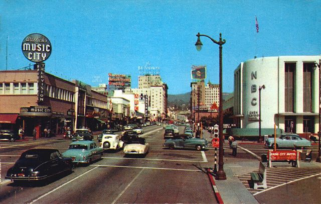 vintage everyday: Color Photos of Hollywood California in the 1950s and 60s