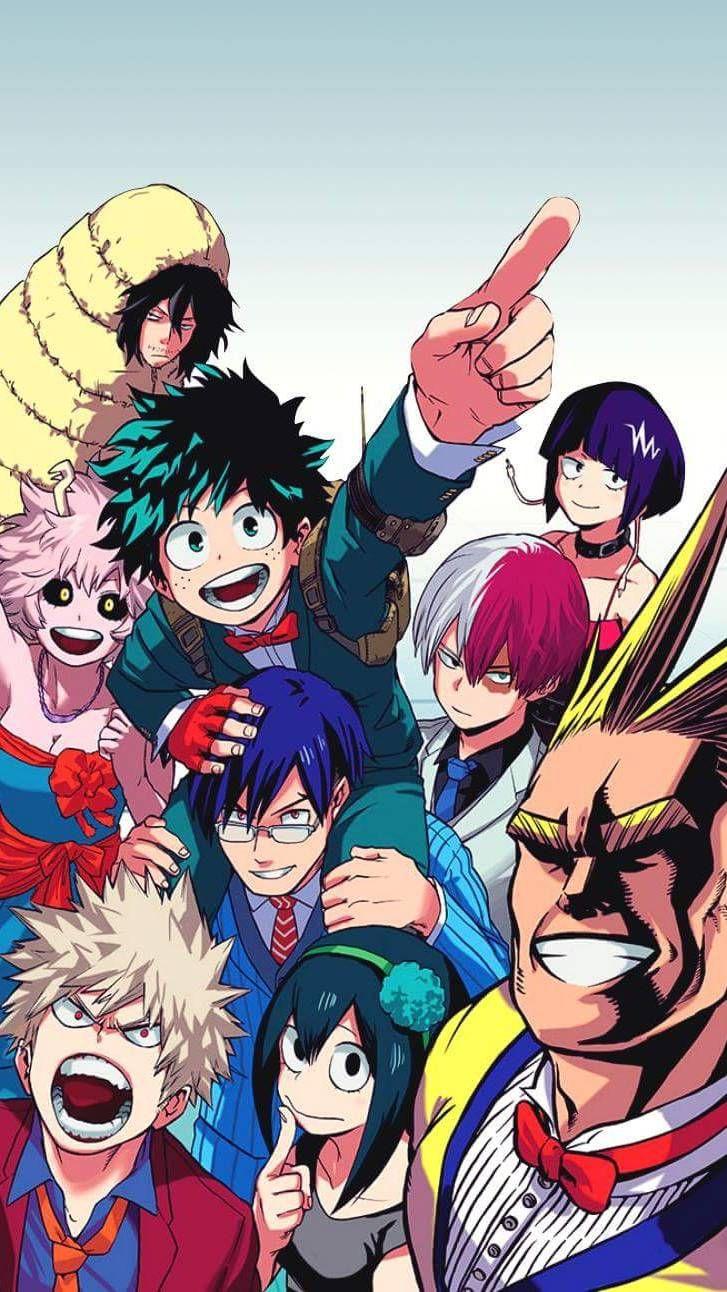 Mobile And Desktop Wallpaper Hd Hero Wallpaper Anime Wallpaper My Hero