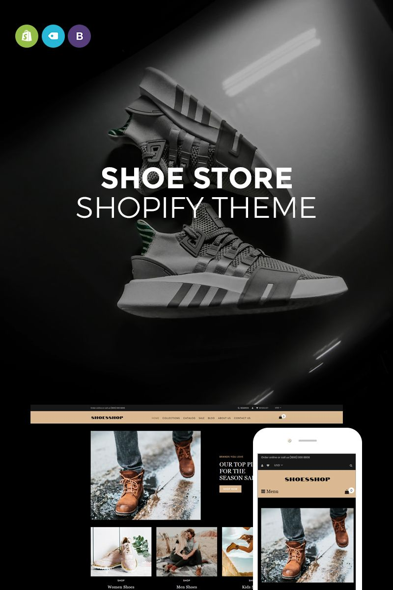 88508a6b5bf52 Shoes Shop Shopify Theme #73719 | Kids Fashion Websites | Fashion ...