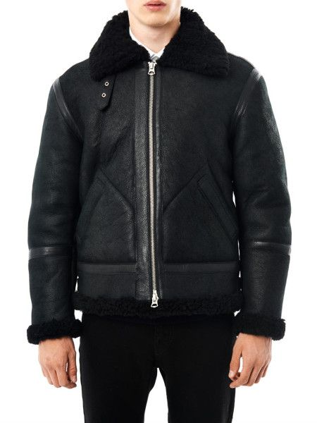 Men's Black Zip Bomber Jacket | Acne studios, Jackets and Studios