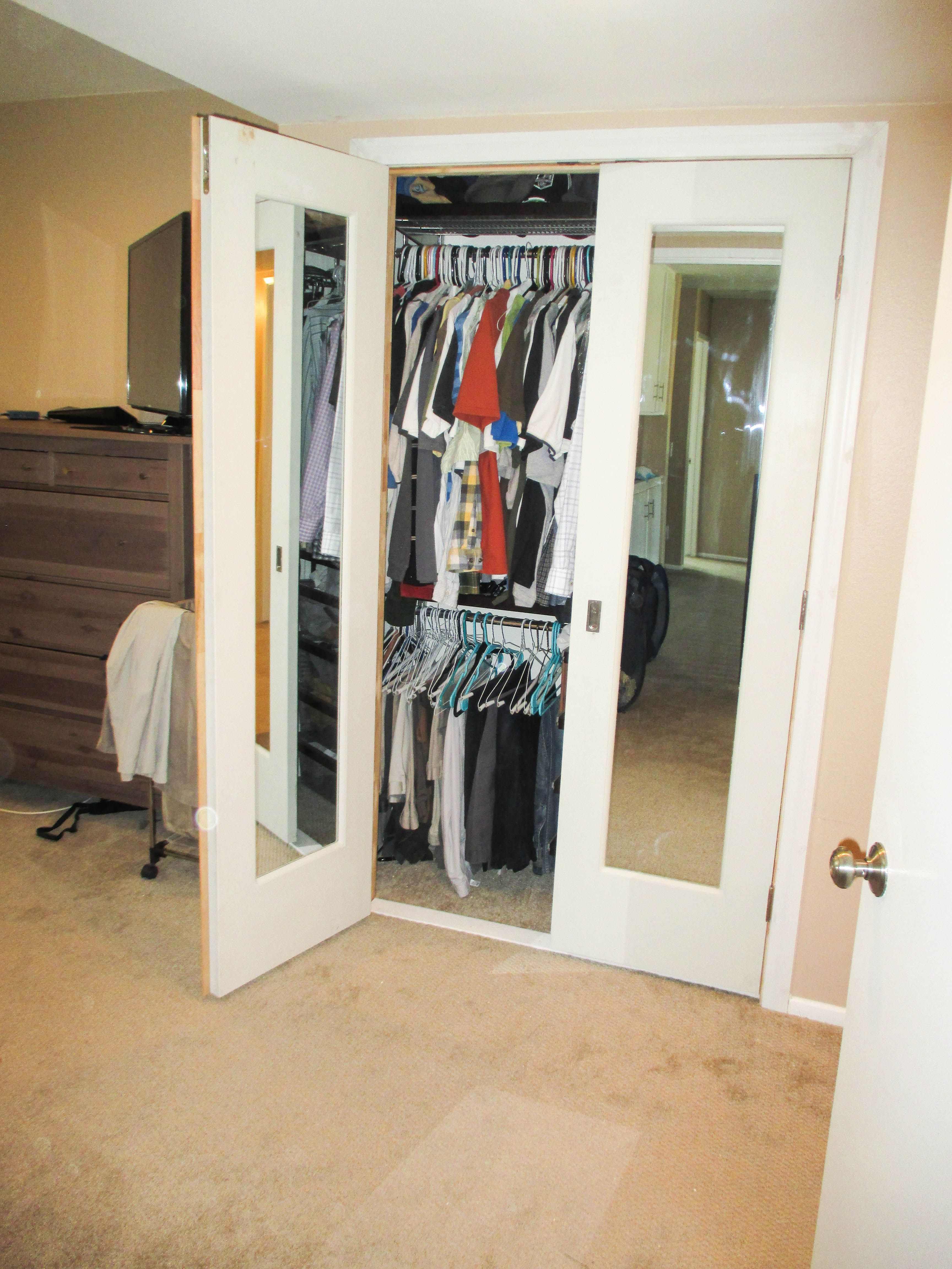 Delightful Have You Been Procrastinating Installing New Closet Doors? Check Out This  Interior, Swinging, Double Door Closet Door System That Our Team Recently  ...