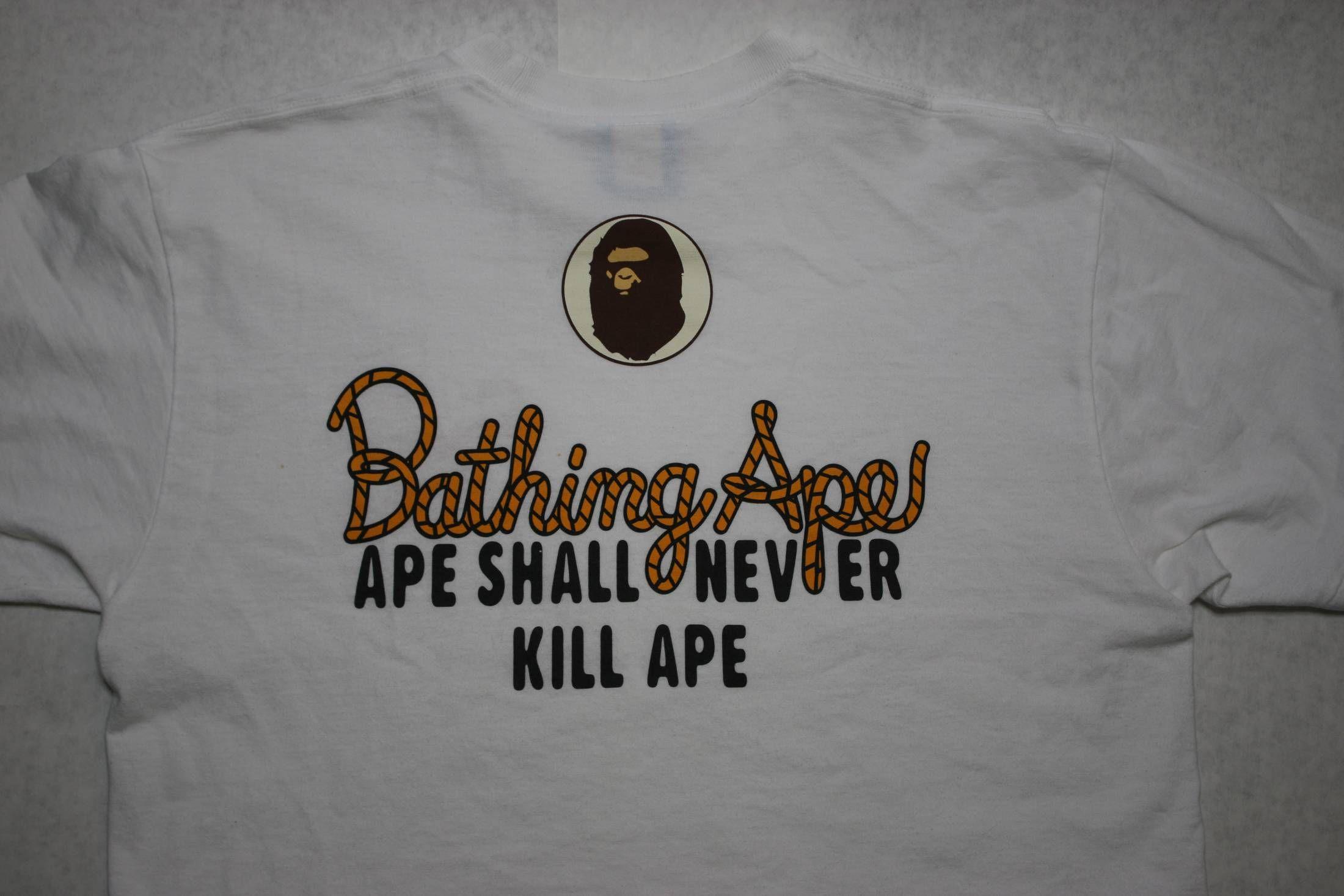 473e64fd A Bathing Ape rope | 1796 | A bathing ape, Mens tops, Bape