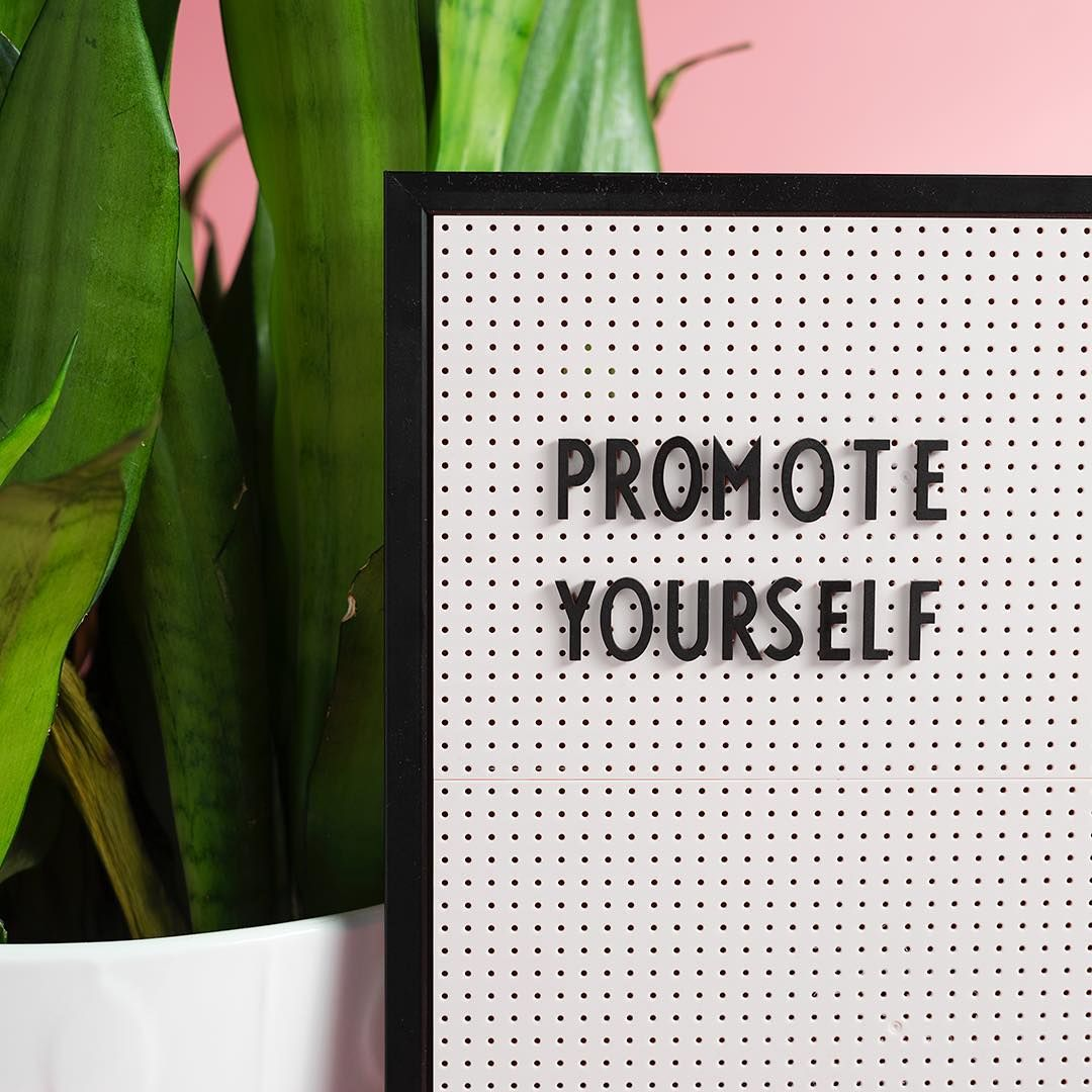 New to self promo? Try a backtoschool promotion. Offer