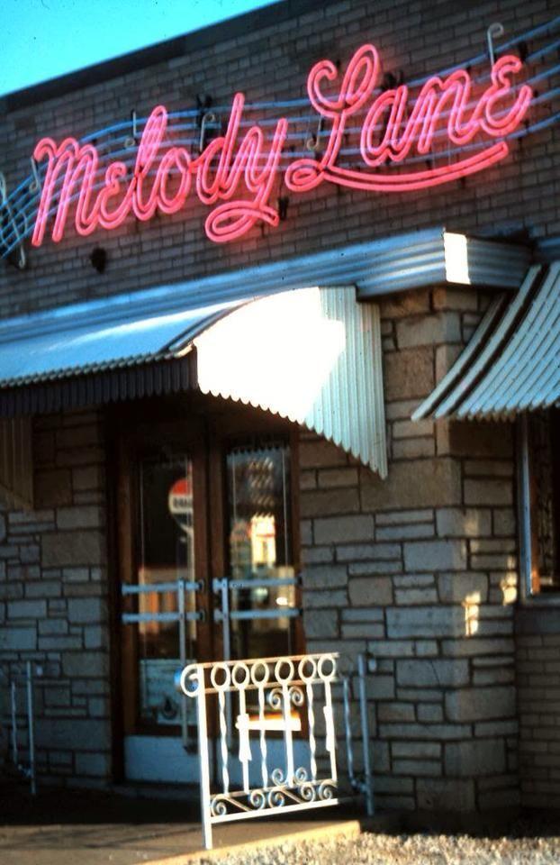 Melody Lane gone but not forgotten · Chicago AreaChicago IllinoisCursiveSignageIce CreamNeonFonts