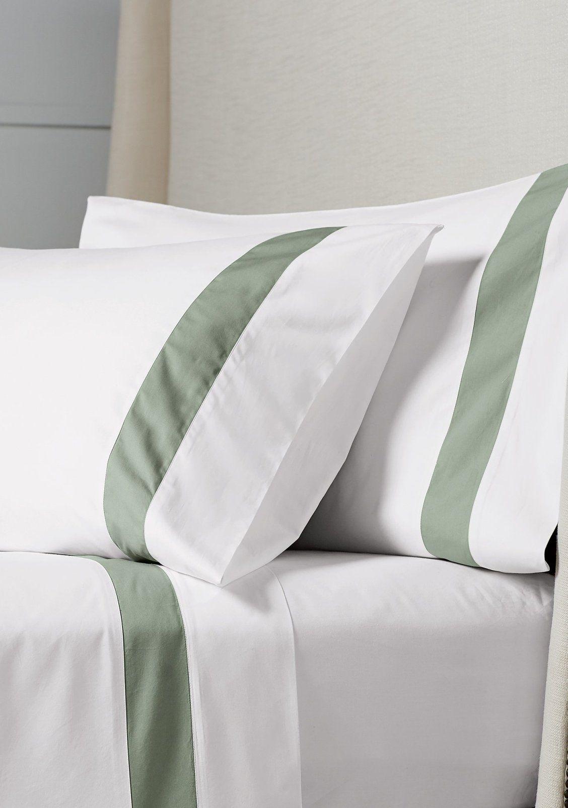 Resort Border Frame Egyptian Cotton Percale Sheet Set Frontgate Bed Cover Design Star Bedding Sleep Accessories 100 egyptian cotton percale sheets