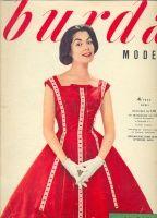 Magazine Burda Moden 1957 4