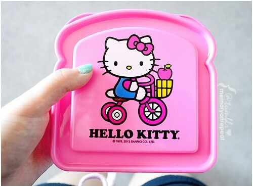 Hello Kitty sandwich container