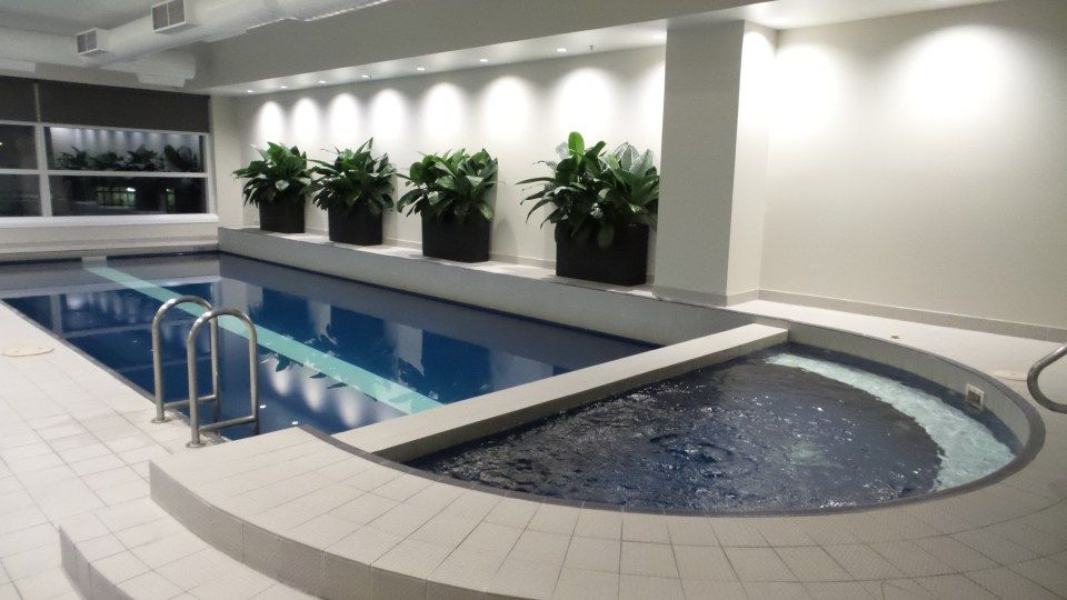 Indoor Pool At The Parkroyal Melbourne Airport Hotel Australia