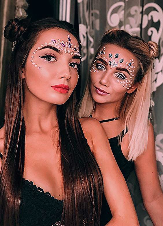 Photo of 45 Cheap Festival Makeup Ideas That Look Amazing 2019 –  #amazing #cheap #festival #ideas #Ma…