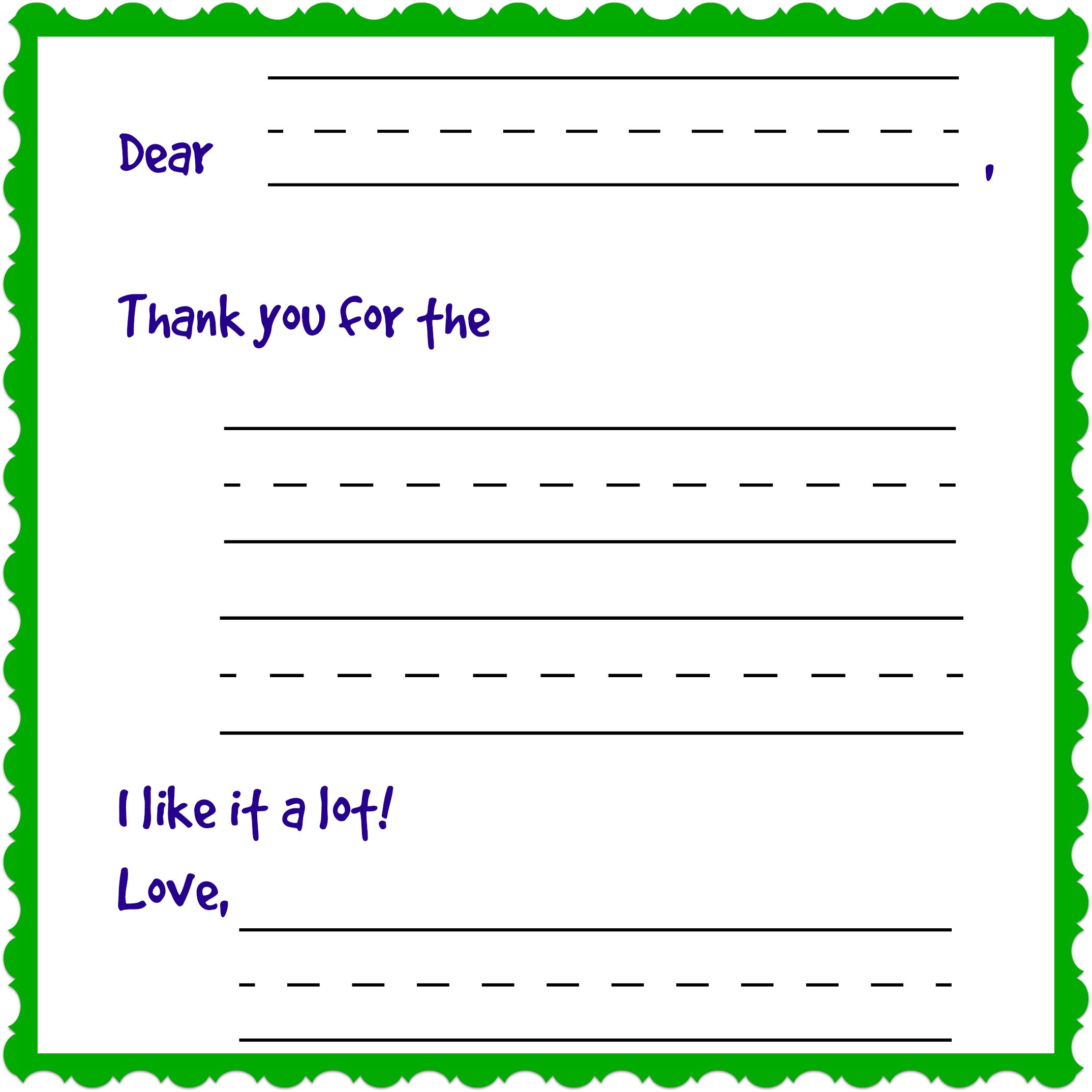 Writing Charming Thank You Notes Free Printable Day 12 Of 12 Days Of Shopping Thank You Note Template Thank You Note Cards Note Card Template