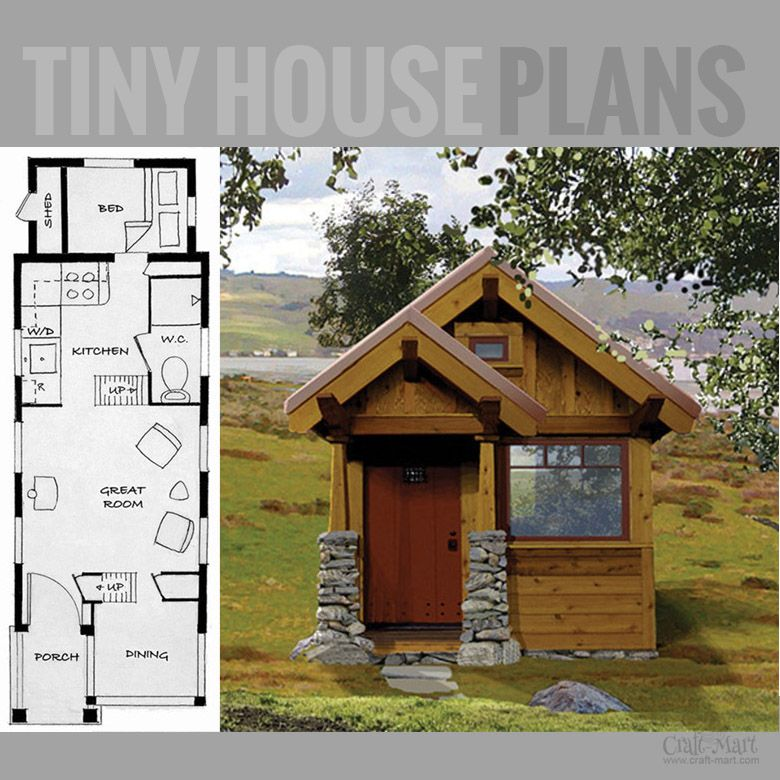 Amazing collection of tiny house floor plans