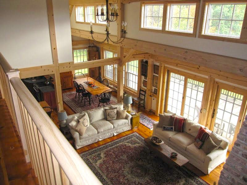 Home & Apartment, Interior Design Of A Pole Barn House A Series Of ...