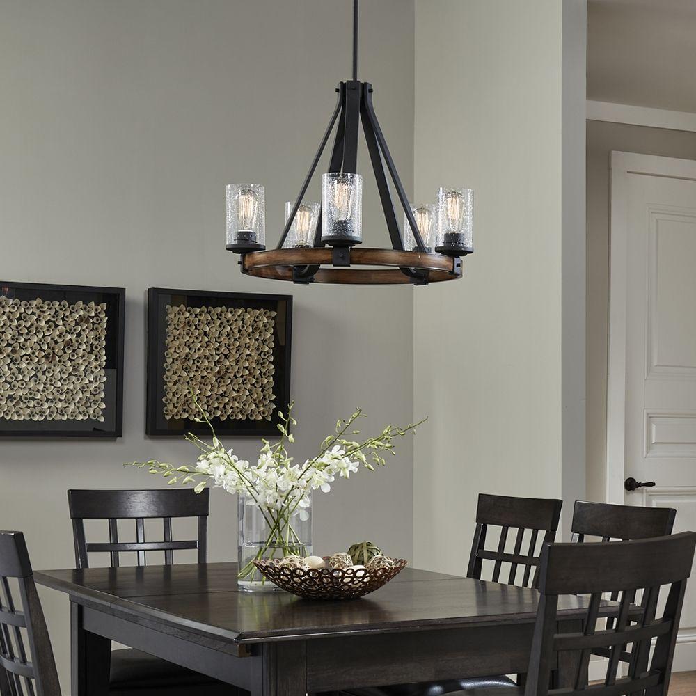 barrington 5 light chandelier