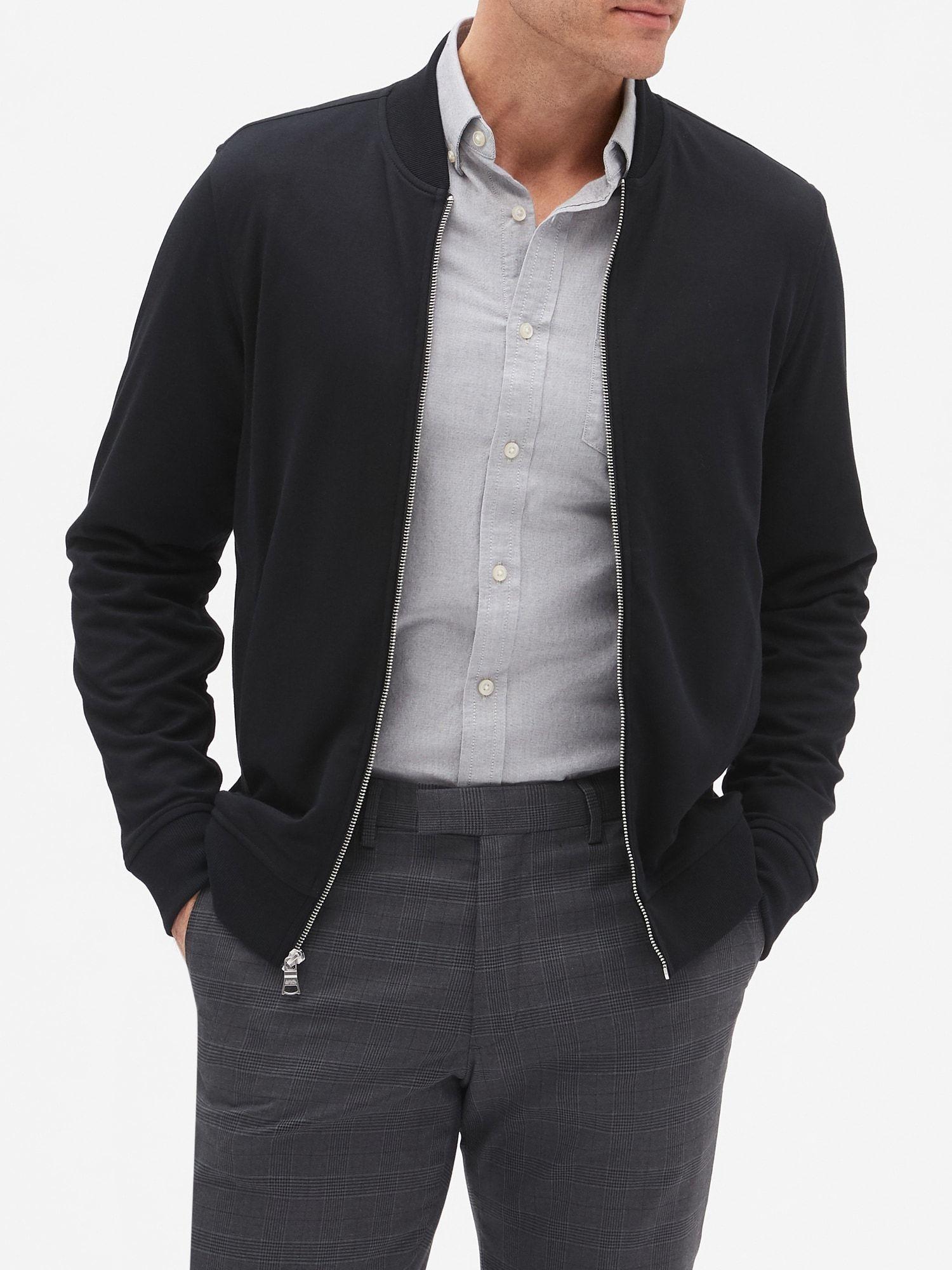 Dress Bomber Jacket Business casual jacket, Bomber