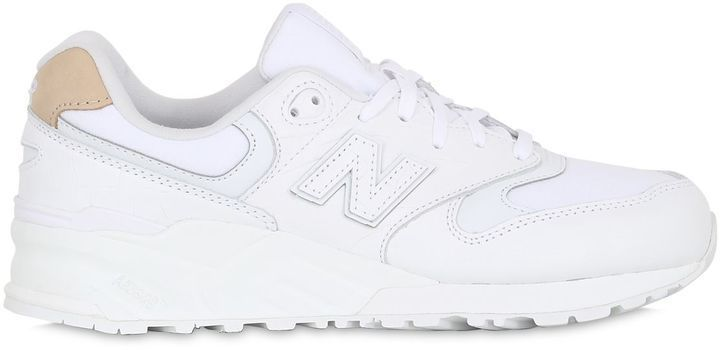 New balance sneakers, Leather sneakers