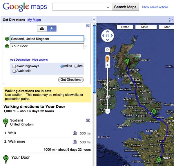 How Do I Get Google Maps To Avoid Toll Roads