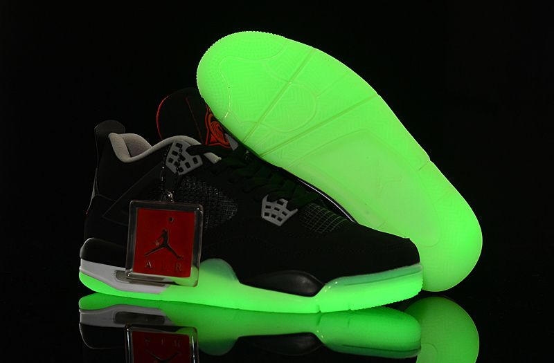 best service ee25a 83186 Jordan 4s glow in the dark   Exclusive Clothes & Kicks   Air ...