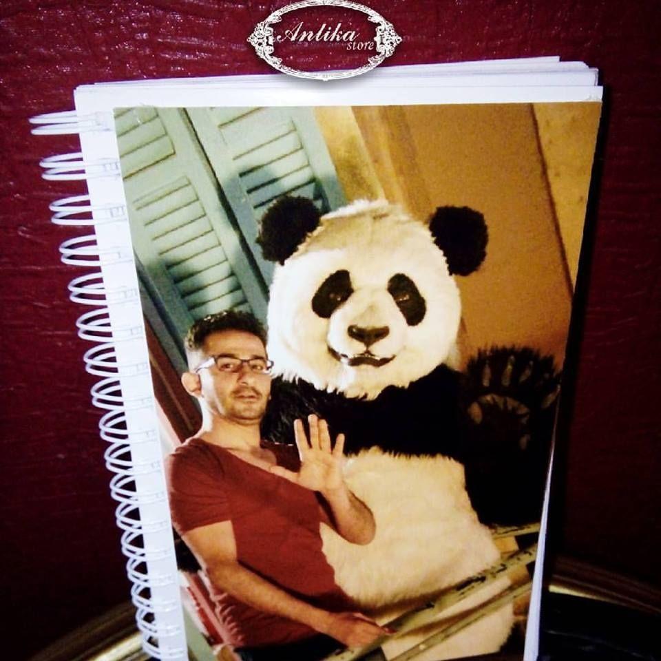 Notebook Ahmed Helmy Banda Gifts انتيكا حب الجمال فن اسعاد الاخرين 3 Art Happy
