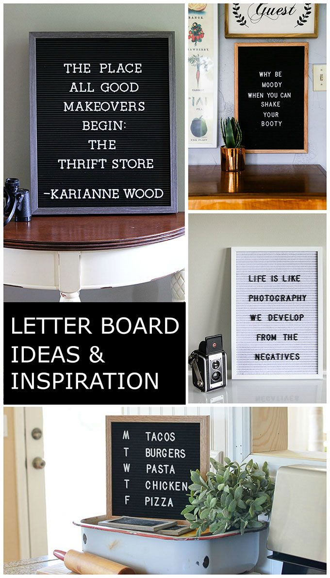 Letter Board Quotes, Inspiration And Ideas | Bloggers' Best DIY