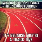Track and field puns