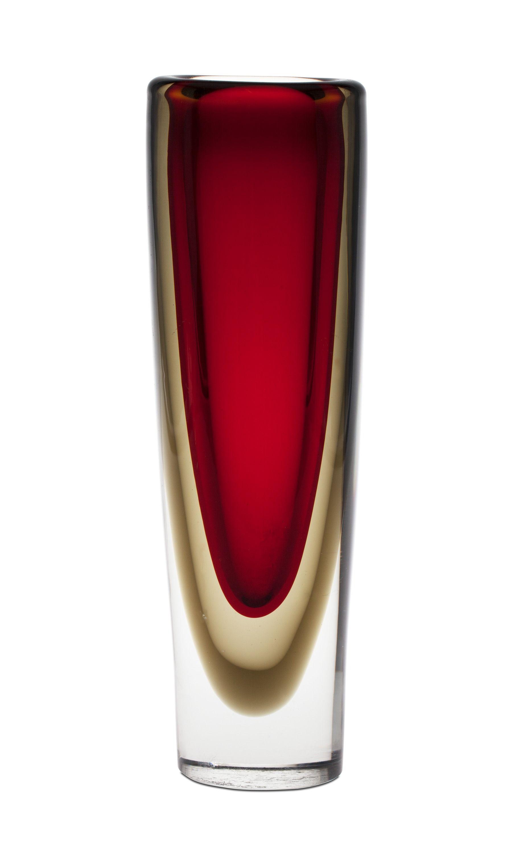 Ruby Glass Vase 8269157 Bukobject Glass Art Glass Vases Centerpieces Studio Glass