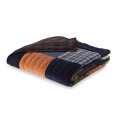 Buy Northern Plaid Twin Quilt from Bed Bath & Beyond
