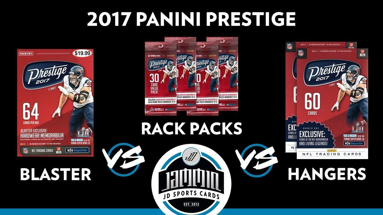 2017 prestige retail versus break helmet card