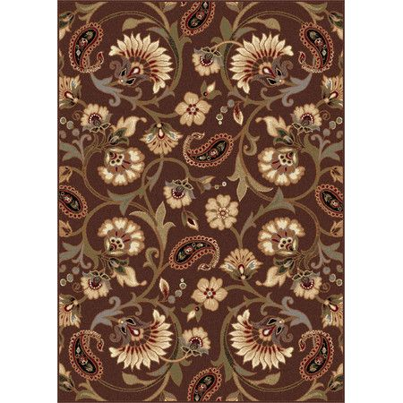 Found it at Wayfair - Elegance Brown & Cream Floral Area Rug http://www.wayfair.com/daily-sales/p/Take-the-Floor%3A-Best-Selling-5%E2%80%99x8%E2%80%99-Rugs-Elegance-Brown-%26-Cream-Floral-Area-Rug~TYX1803~E22385.html?refid=SBP.rBAZEVVfVZYEOy_OQk2PAtvfwzVx90ANrggQPCT7eQU