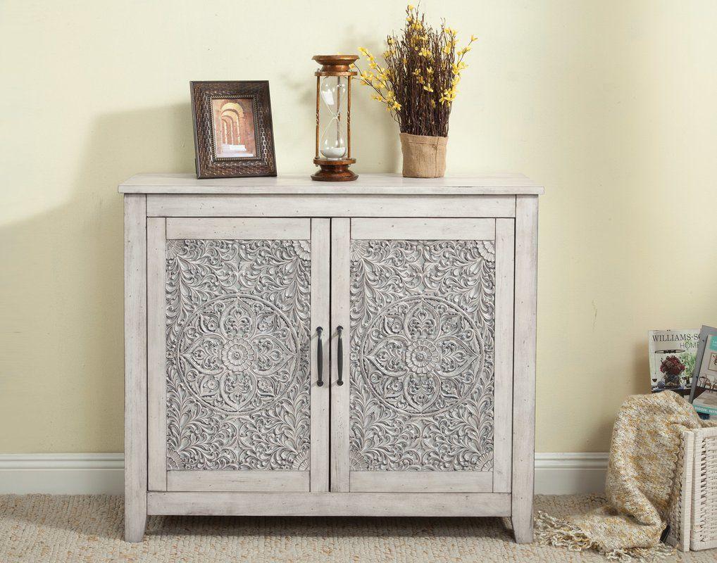 Best Odessa 2 Door Accent Cabinet Joss Main Wood Species 400 x 300