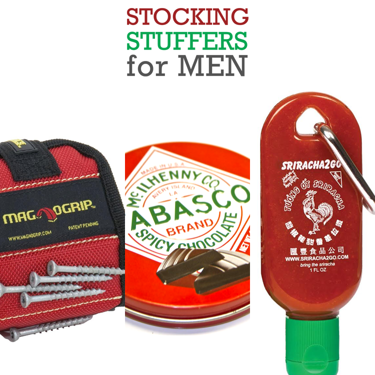 Stocking Stuffers for Men - The Cottage Market #stockingstuffersformen