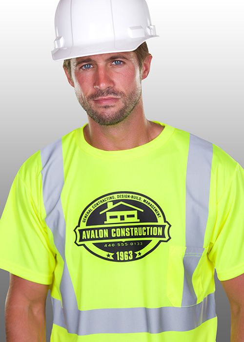 Construction T Shirt Design With Image Of House Qbu 234