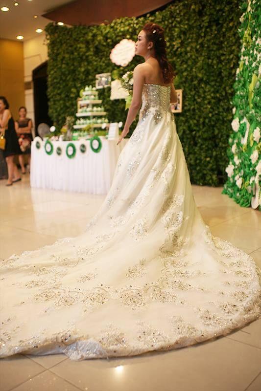 Our bride in gorgeous wedding dress weddingdresses weddingideas