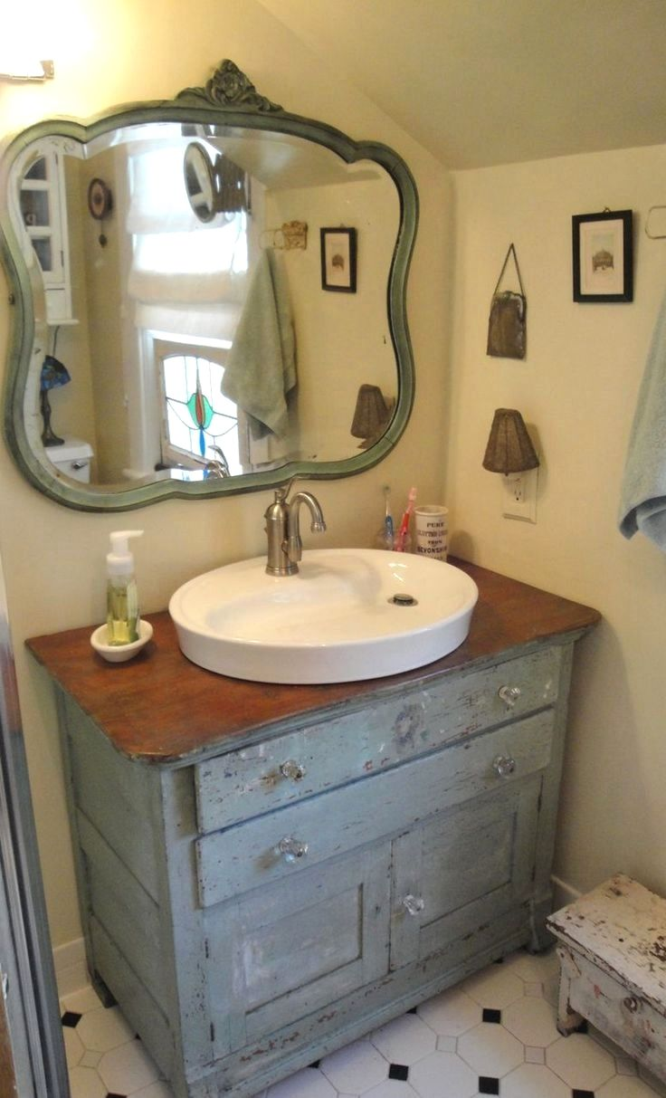 Bad ideen mit shiplap nice  clever way to remodelling bathroom with shabby chic dresser