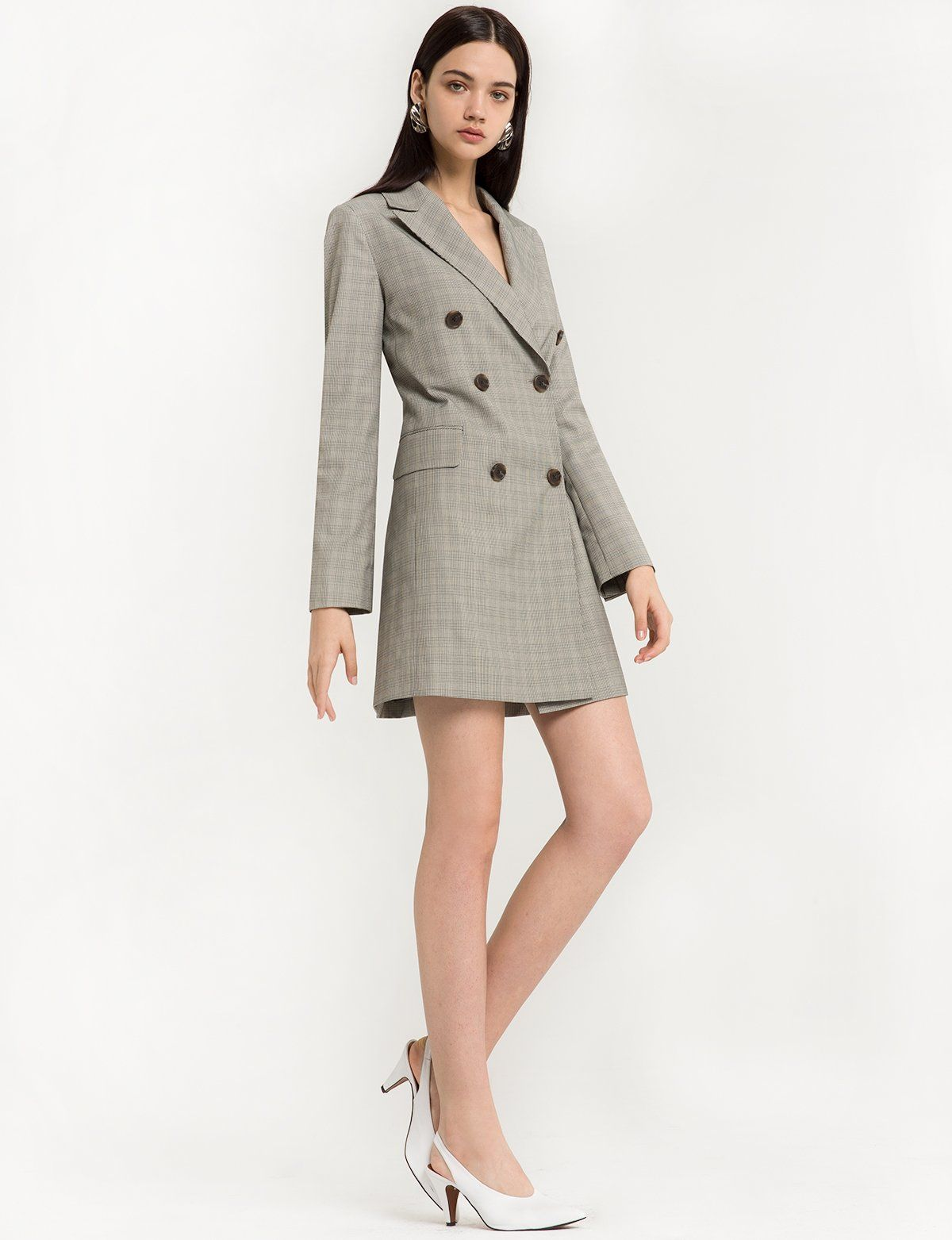 9f73801668e0 Aerin Double Breasted Blazer Dress   double breasted tailored dress ...