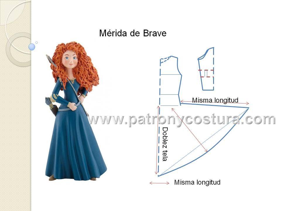 Mérida de Brave disfraz. tema 200   merida   Pinterest   Costura ...