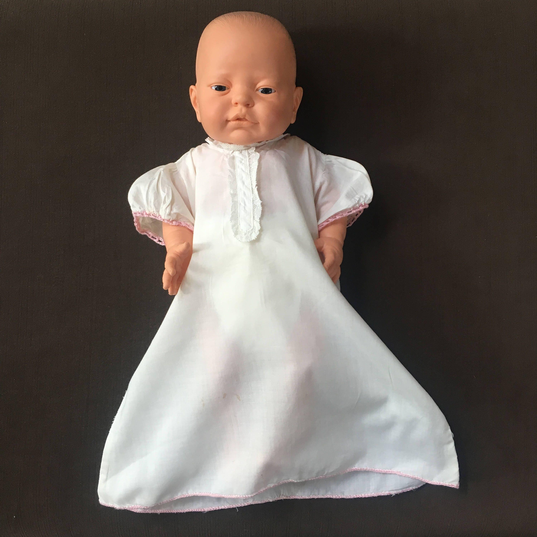 Newborn Gown, Baby Nightgown, Newborn Photos, Vintage, 1950\'s, White ...