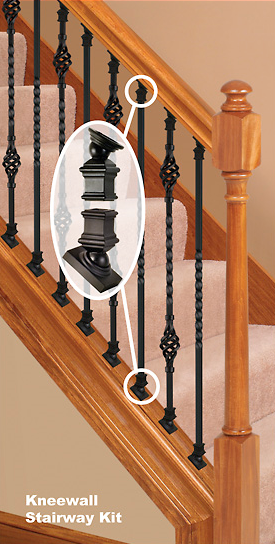Replace Wood Balusters With Iron Balusters Wood Stairs Iron | Replacing Wood Spindles With Metal | Stair Spindles | Iron Stair Balusters | Stair Parts | Stair Railing | Staircase