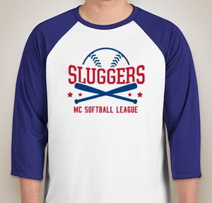 Add your softball team name to your team shirts—design the perfect ...