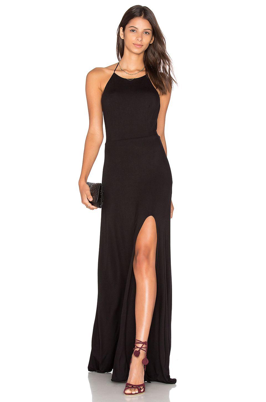 De Lacy Nikki Maxi Dress in Schwarz | REVOLVE | Kleider | Pinterest ...
