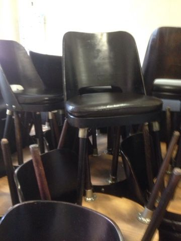 Cafechairs: EURO. 42 Leather Ply Restaurant Dining Room Ladies Lounge Night  Club Chairs SOLD