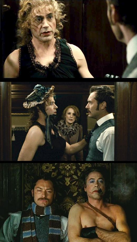 I Agree It S Not My Best Disguise Robert Downey Jr As Holmes