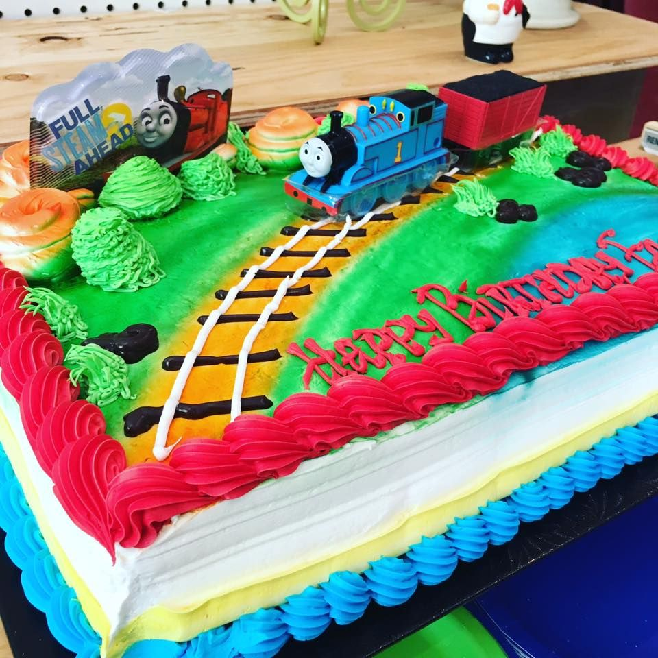Cake From Metro Thomas The Tank Engine Party Pinterest