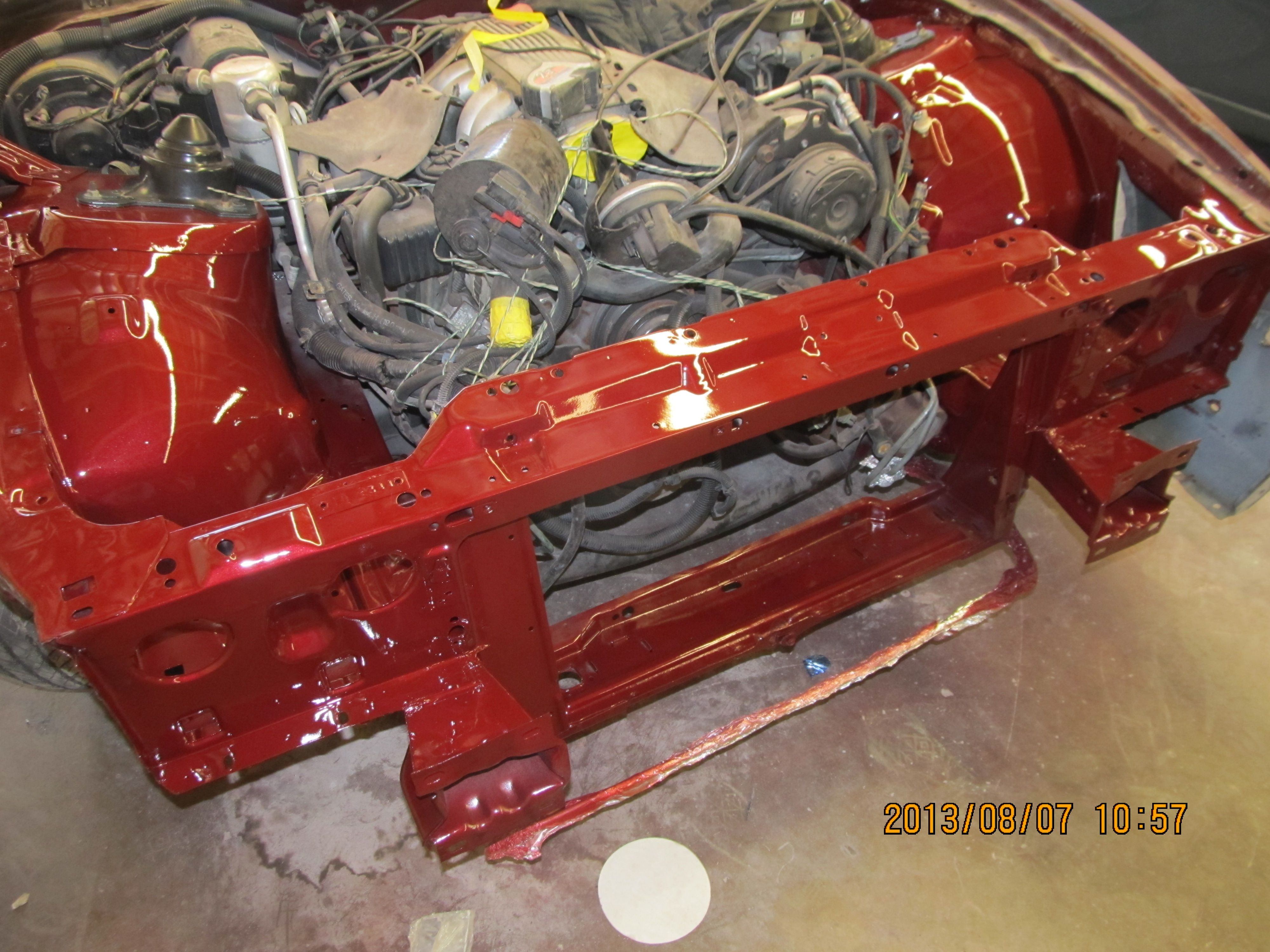 Inner Body Work Completed Now To Reassemble 1987 Trans Am Gta