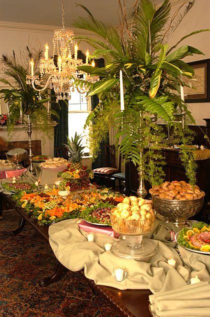 Wonderful Weddings Of Savannah Wedding Buffet Table Brunch
