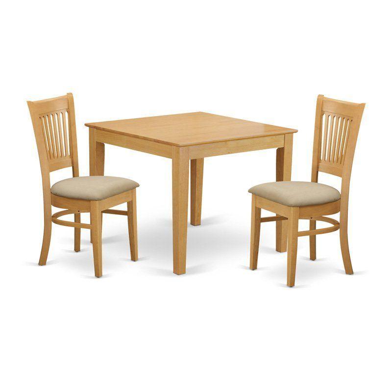 East West Furniture 3 Piece Hepplewhite Modern Breakfast Nook Simple 3 Piece Kitchen Table Set Design Decoration