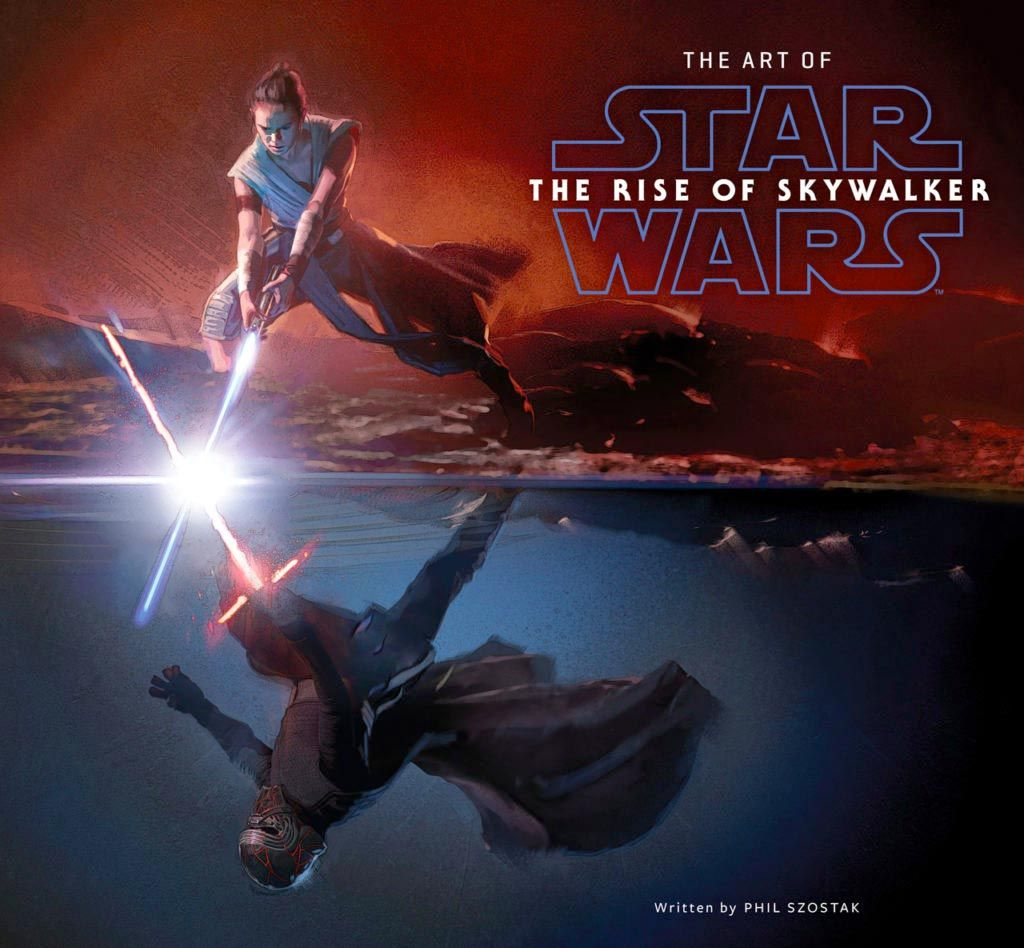 Star Wars Rise Of Skywalker Concept Art Features A Crazy Lightsaber Fight Between Rey And Kylo Ren Star Wars Books Star Wars Film Star Wars Watch
