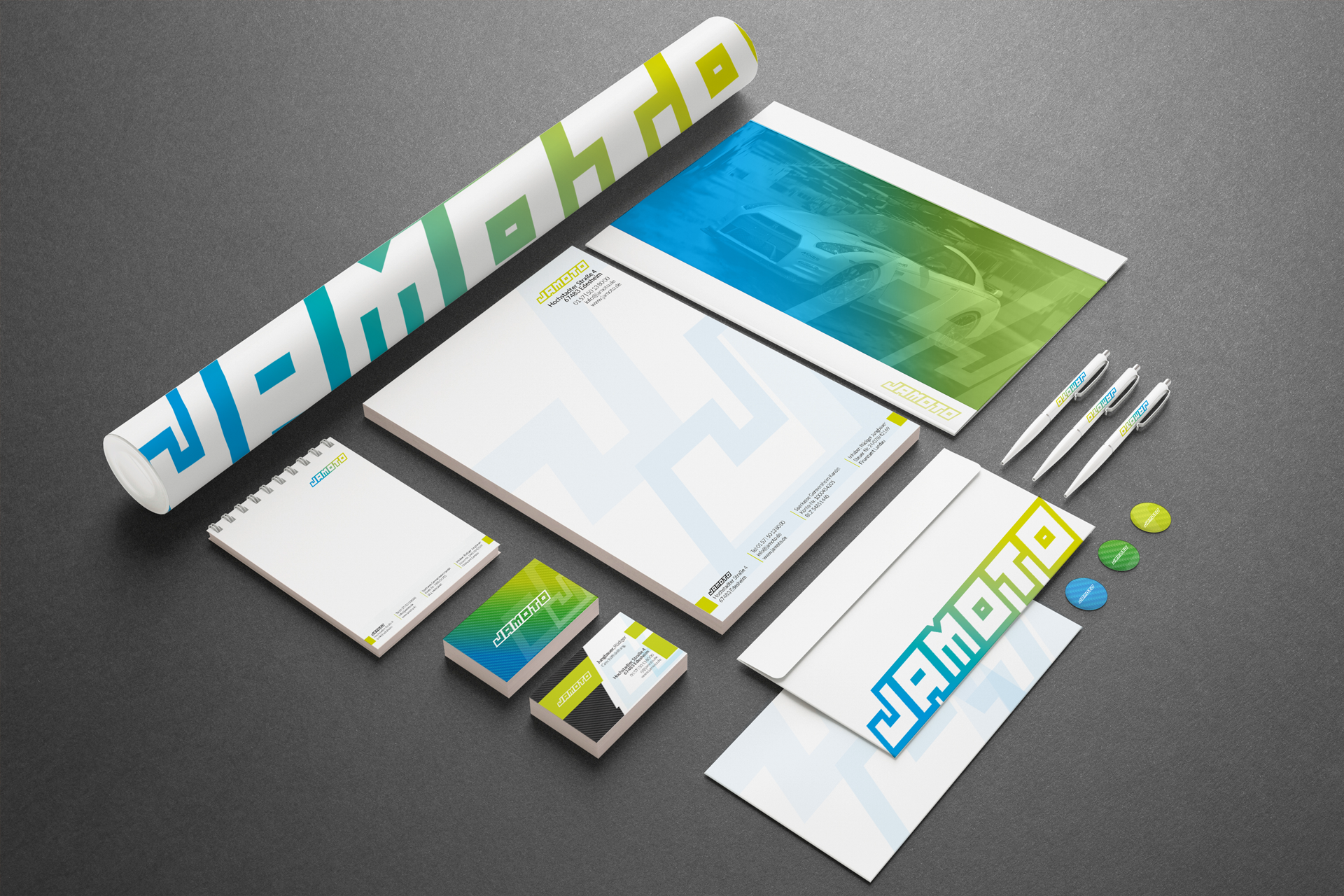 Corporate Design KfZ - mehr auf https://www.4uture.com/portfolio/corporate-design-kfz/