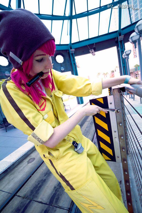 Super Dangan Ronpa 2 cosplay Kazuichi Souda.