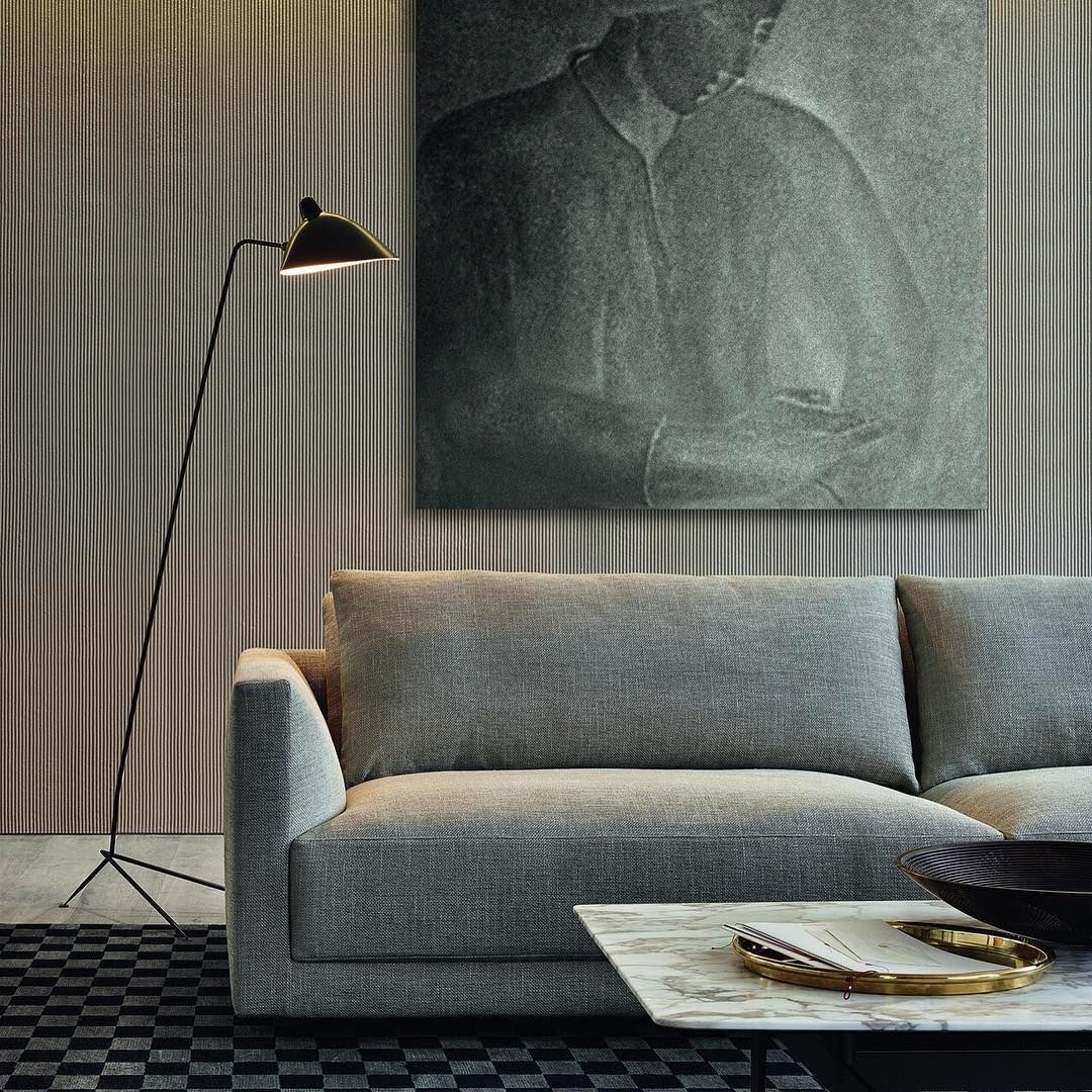Comfortable Contemporary Furniture: Contemporary Meets Comfort. The Bristol Sofa Features
