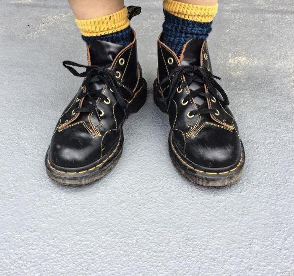 DOC'S & SOCKS: The Vintage Church boot, shared by yukimaegawa.
